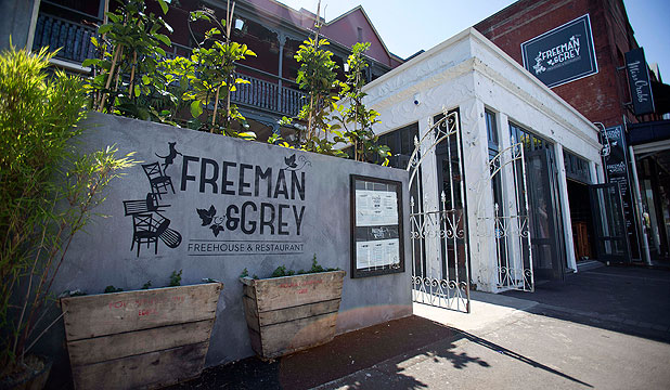 Freeman and Grey in Ponsonby