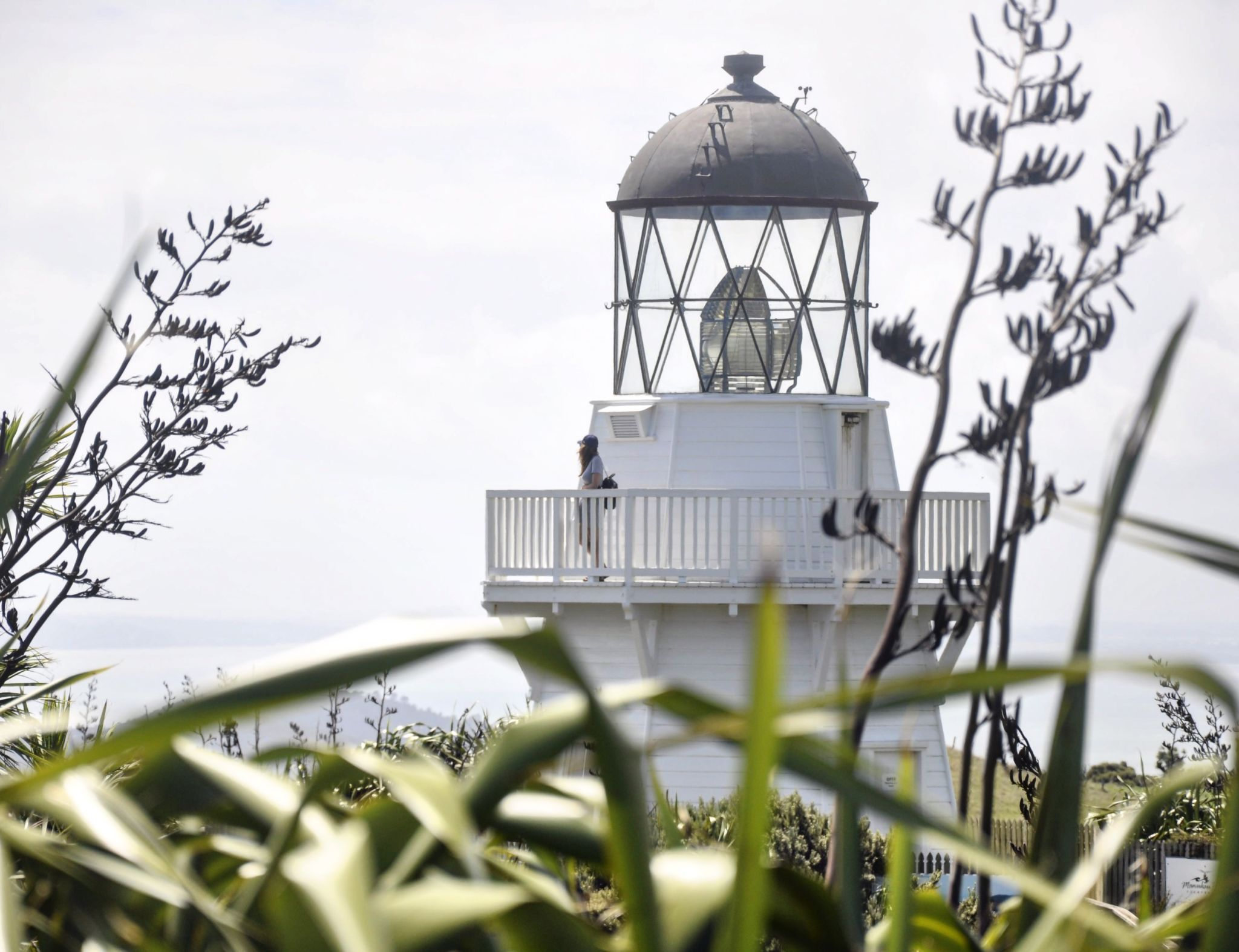 Manukau Heads Lighthouse by Real World Runaway