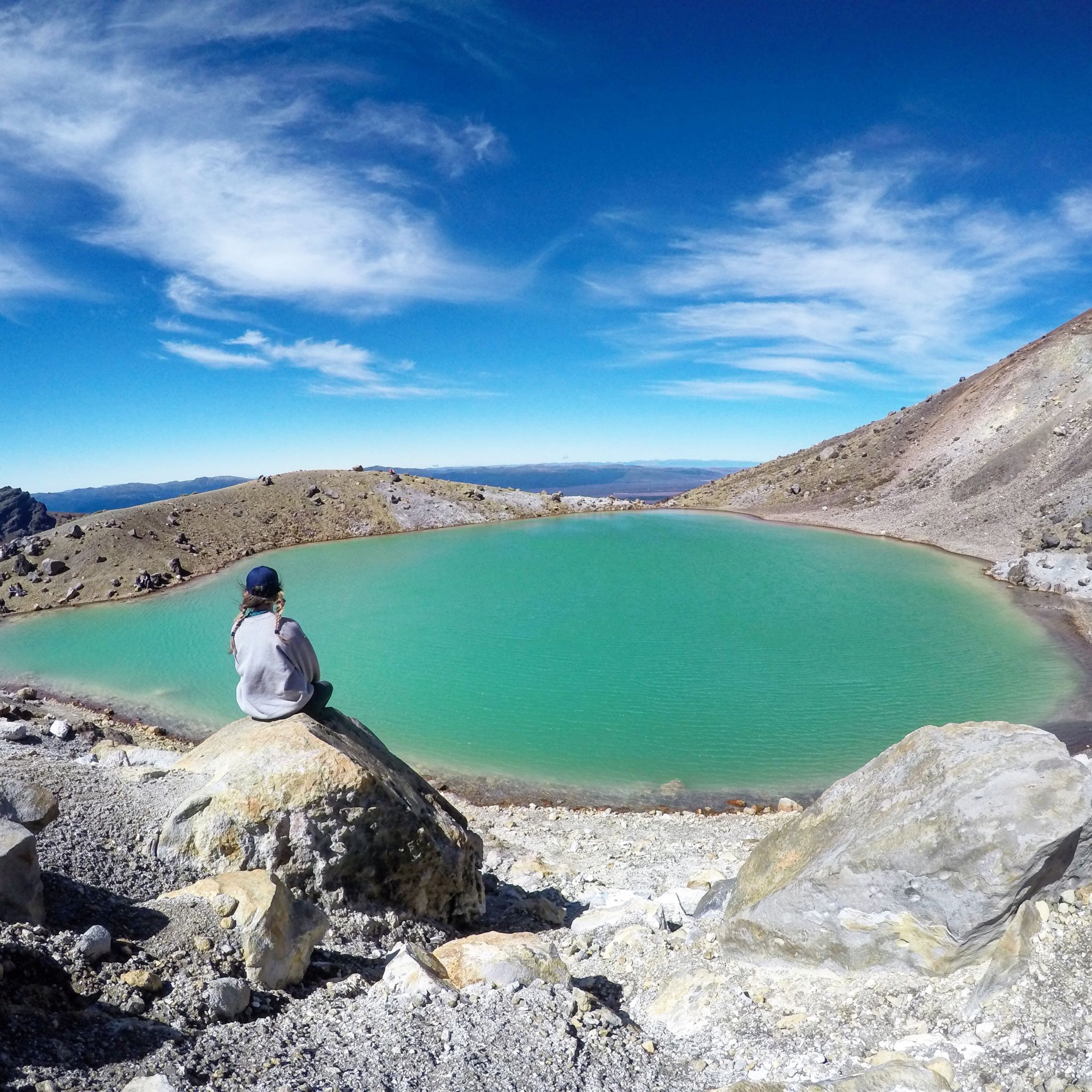 Tongariro Crossing Real World Runaway